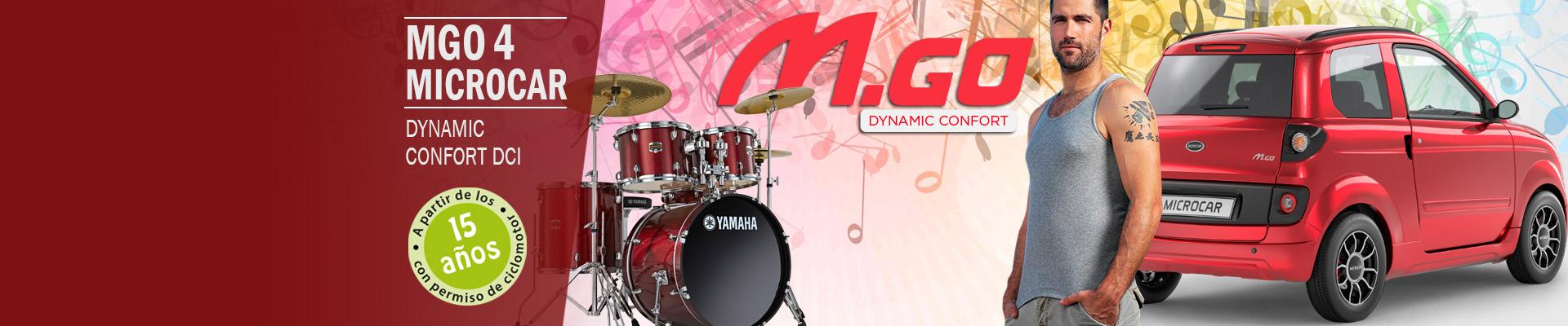 Descubre el Microcar MG0 Dynamic Confort DCI